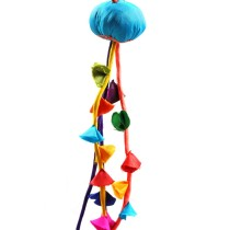 Handmade Multicoloured Tassels Curtain Holder by Disadvantaged Youth & Women