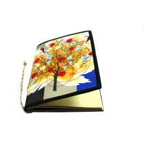 Shop Handcrafted Rose Tree Print Cloth Diary by VSA-India Meets India