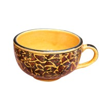 Exclusive Handmade Khurja Pottery Cup by Awarded Artisans