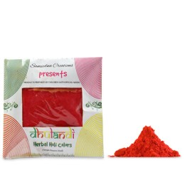 Organic Red Holi Colors Dry Gulaal by Intellectually Challenged