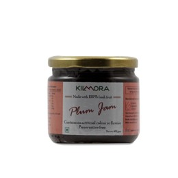 Natural Fresh Plum Jam