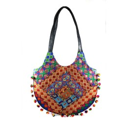 Handmade Ethnic Fashion Shoulder Bag by Artisans from Gujarat