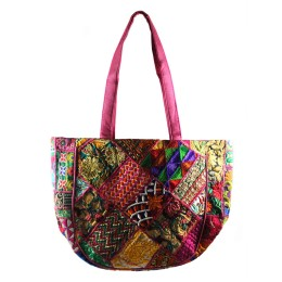 Handmade Multicolor Shoulder bag by Artisans from Gujarat