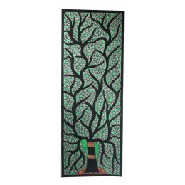 Exclusive Tree of life Madhubani Wall Hanging by Artist from Bihar