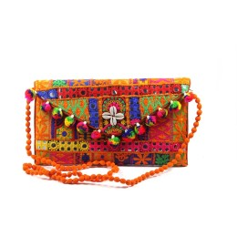 Beautiful Ethnic Multicolor Sling Bag by Artisans of Gujarat