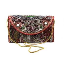 Designer Kutch Zari Work Sling Bag by Artisans of Gujarat