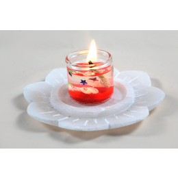 Exclusive Tea Light Holder And Incense Stick Stand by Artisans from Agra