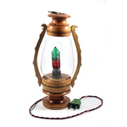 Classy Traditional Wooden Lantern With Light by Artisans from West Bengal