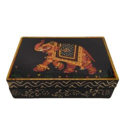 India Meets India Handicraft Jewelry Organizer Box, Jewelry Box, Women Storage Organizer, Best Gifting Made By Awarded Indian Artisan