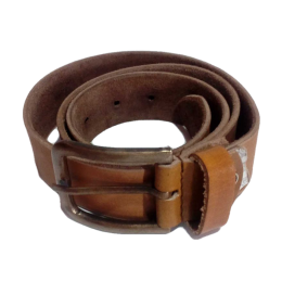 "India Meets India Handicraft Men's Leather Belt 34"" Inch, Leather Belt, Dress Belt, Best Gifting, Made By Awarded Indian Artisan"