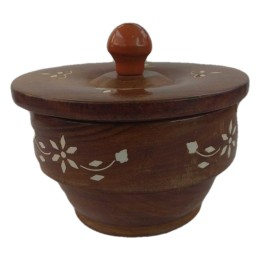 India Meets India Handicraft Wooden Antique Supari Daan, Best Gifting, Made By Awarded Indian Artisan