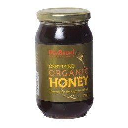 Zero Sugar Certified Premium Organic Honey by Hill Farmers