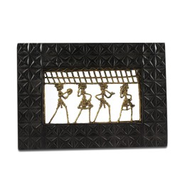 Exclusive Tribal Dance Brass Wall Hangings by Artisans of Chattisgarh