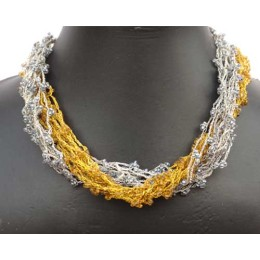 Pair of Handwoven Neck Pieces