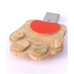 Handcrafted Paw Pendrive - 8GB by Rural Artisans