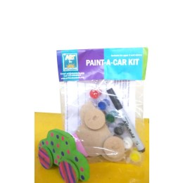 Paint a car kit by young adults from low income communities