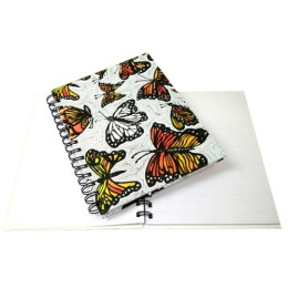 Spiral Notebook - Monarch Butterfly by young adults from low income communities