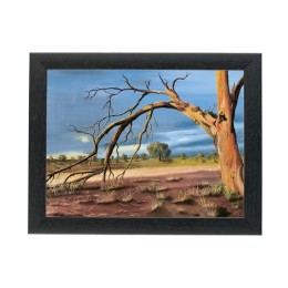 Exclusive Parched Earth Painting By Mouth & Foot Painting Artists