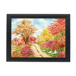 Beautiful Cute Scenery Painting By Mouth & Foot Painting Artists