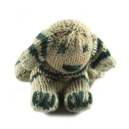 Unique Hand Knitted Toy Dog by Women artisans of Uttrakhand