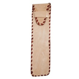 Handmade Stylish Designer Leather Embroidered Apple Phone pencil Cover by Artisans from Rajasthan