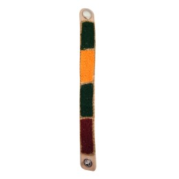 Handmade Stylish Designer Leather Embroidered Bracelets by Artisans from Rajasthan