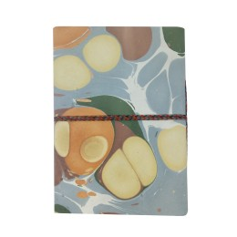Classy Handmade paper diary with Marble Design by people of urban slums