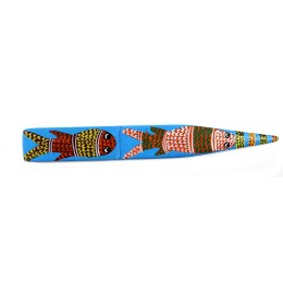 Designer Handpainted Wood Paper Cutter by International Gond Artist
